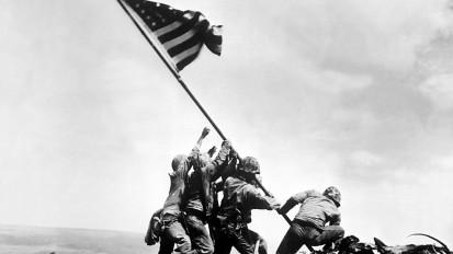 Shooting Iwo Jima